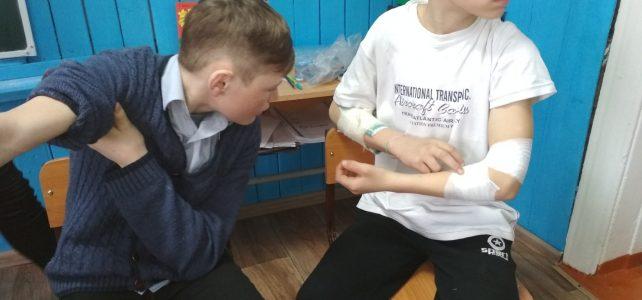 Игра-практика «Чрезвычайная ситуация, оказание первой медицинской помощи»